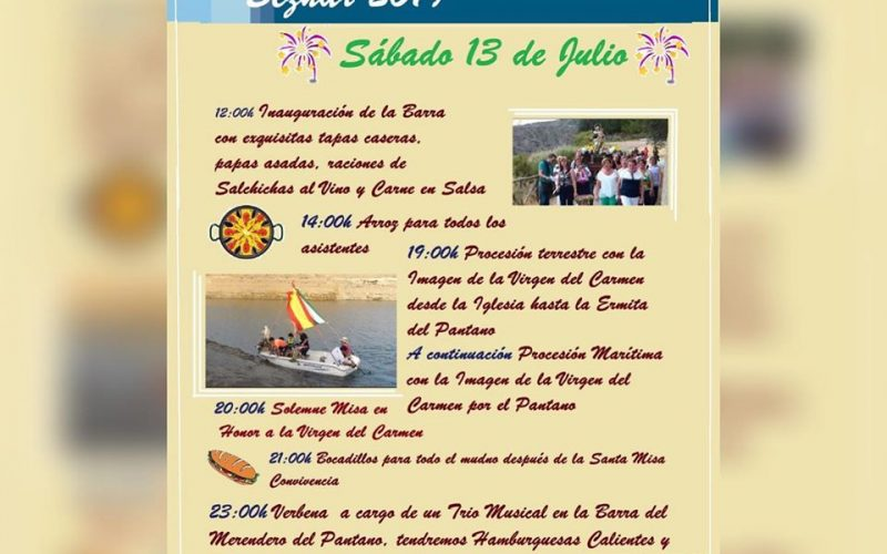Fiestas Virgen del Carmen