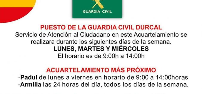 Guardia Civil Dúrcal