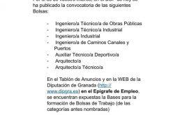 Convocatoria bolsa Diputación