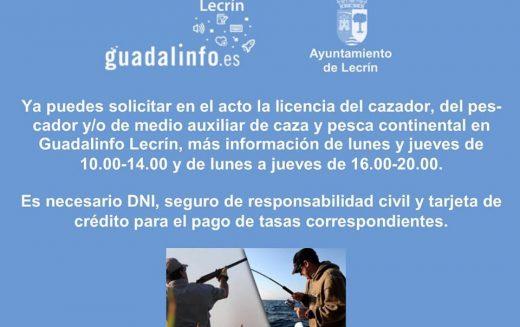 Licencia de caza y pesca