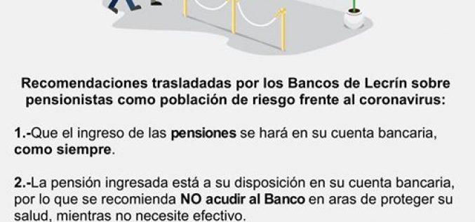 Bancos de Lecrín