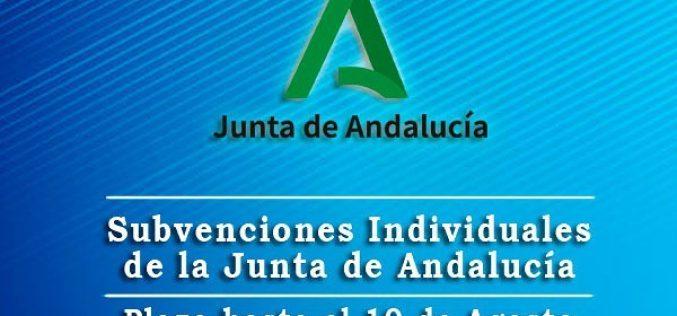 Subvenciones Junta Andalucía