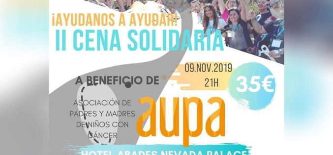AUPA, cena solidaria