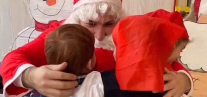 Papa Noel en la guardería