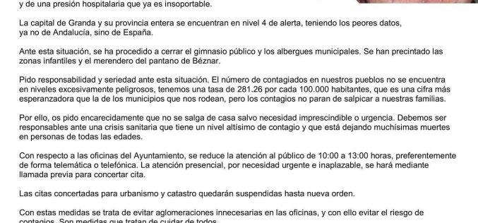 Comunicado Pedro Titos
