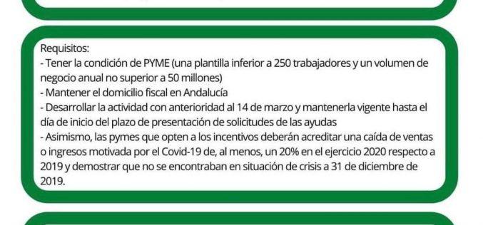 Subvenciones Junta de Andalucía