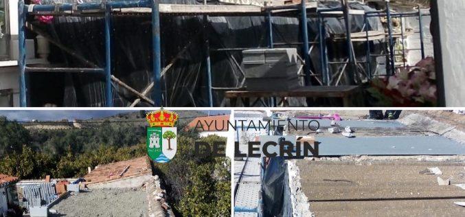 Construcción nichos Béznar