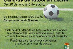 Campus de fútbol en Lecrín